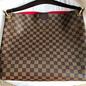 Louis Vuitton Graceful MM Hobo bag Receipt & Box